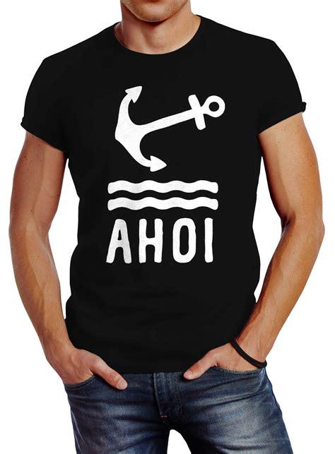 herren  shirt anker ahoi slim fit  akowi