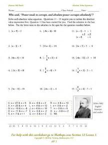 mathematics for grade 2 av 1 absolute value expressions and equations mathops