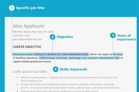 What To Say In A Resume by Resume Objective Exles And Writing Tips