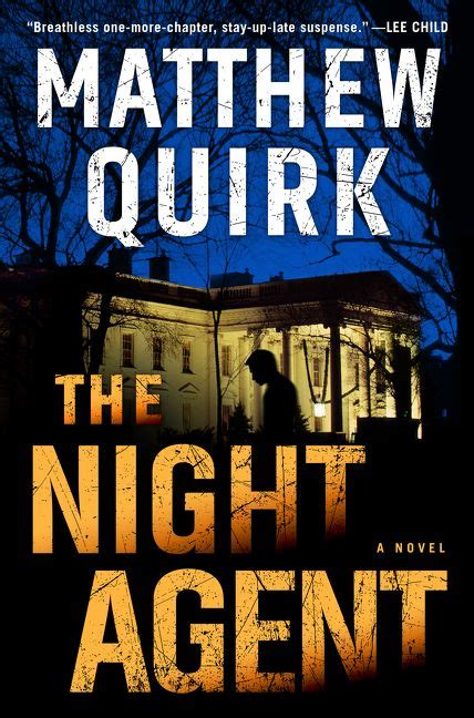 the matthew quirk hardcover