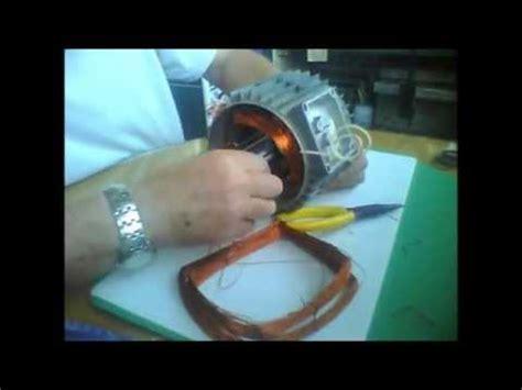 aprender bobinados 5 bobinado de motor monof 225 sico de 2 polos youtube