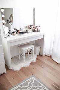 Schminktisch Deko Ideen : mein schminktisch im angesagten marmor look ~ Markanthonyermac.com Haus und Dekorationen