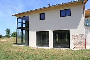 Choisir Couleur Facade Maison : couleur facade maison tendance elegant couleur facade ~ Nature-et-papiers.com Idées de Décoration