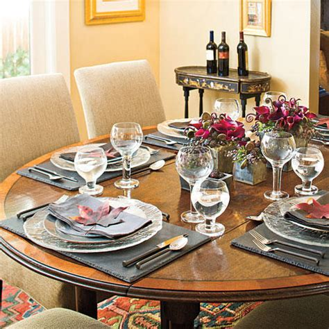 How To Set a Stunning Table - Southern Living