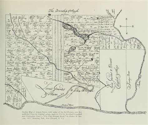 argyle patent  accompanying documents  york