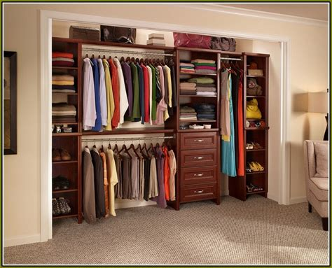 wood closet organizers kits home design ideas