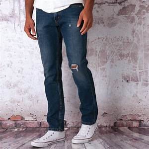 Mens Levis 511 Slim Fit Rowdy Creek Jeans In Denim From ...