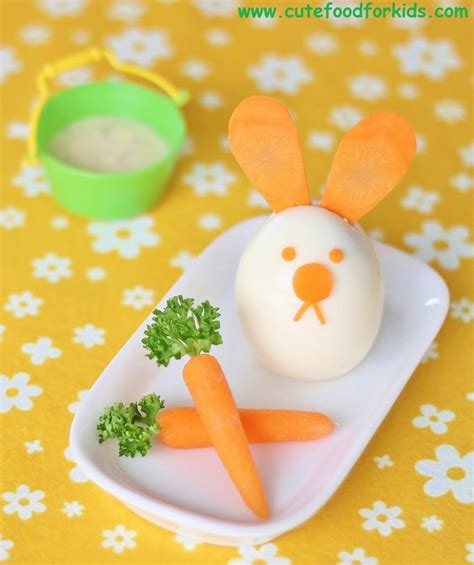 easter snack ideas cute food for kids easter snack idea egg bunny