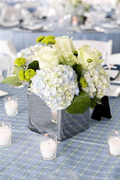 nautical flower arrangements backyard wedding by angie silvy photography 1049