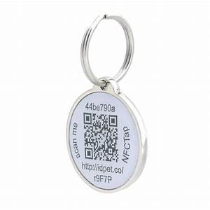 pettouchid smart pet id tag qr code nfc gps location With qr code dog tag
