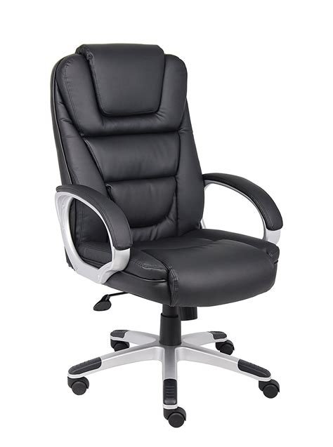 Office Chairs Black by Black Leatherplus Executive Chair Home Furniture Design
