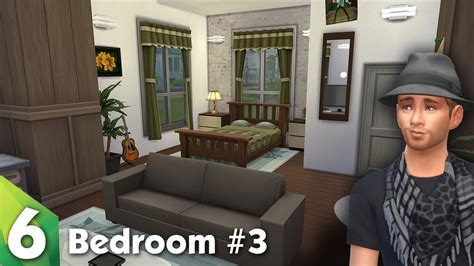 Minecraft Living Room Designs by The Sims 4 Room Design Beautiful Bedroom Youtube