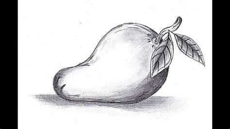 gambar sketsa buah  dimensi