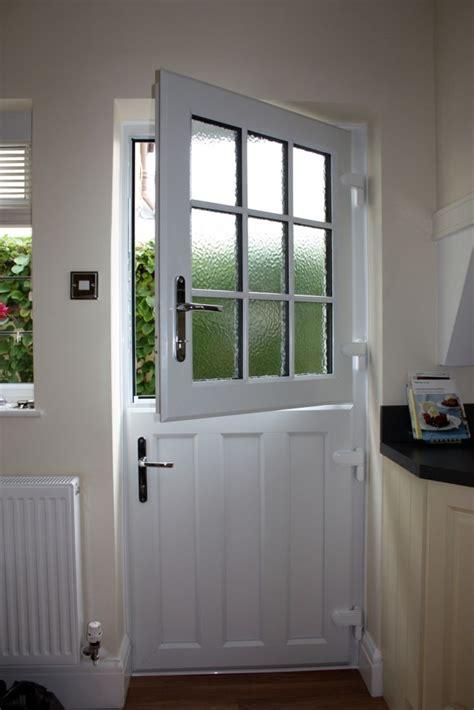 wooden upvc stable doors  somerset