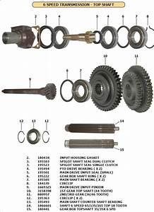 Gear Box Parts 35 Six Speed
