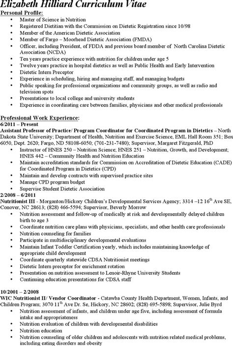 clinical dietitian resume 28 images resume felony