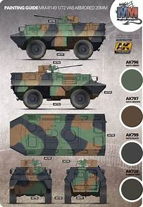 Vab Armored 20mm Camouflage Color Profile And Paint Guide