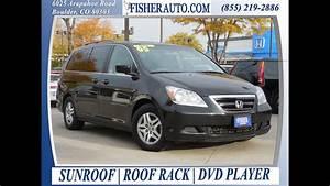 2005 Honda Odyssey Exl Black