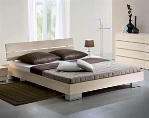 Bett Massivholz Weiß : bett in z b 90x200 cm gr e aus buchenholz sogno ~ Indierocktalk.com Haus und Dekorationen