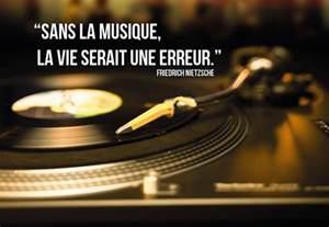 Sans La Musique La Vie Serait Une Erreur by Belle Citation Musique Une Grande Collection Belle