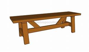 How to build a simple bench | HowToSpecialist - How to ...