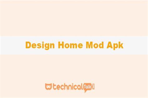 design home mod apk  versi terbaru