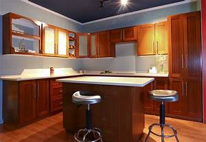 red kitchen cabinet paint colors home design inspirations With best brand of paint for kitchen cabinets with city skyline wall art