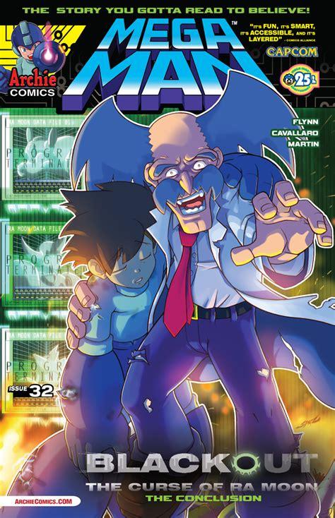 mega man  preview  archie comics whatcha reading
