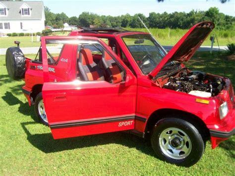 sidekick jeep 1994 geo tracker 4x4 convertible sidekick jeep suv truck