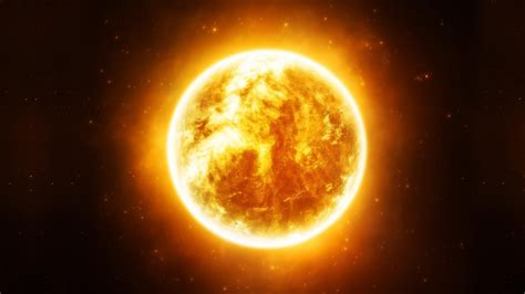Hd Outer Space Pictures Hd Hintergrundbilder Sonne Oberfläche Feuer Licht Desktop Hintergrund