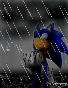 Sad Sonic the Hedgehog Comic
