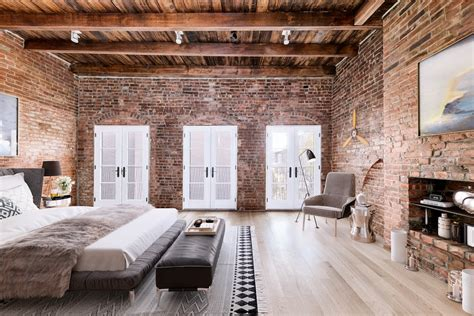Amazing Loft Apartment Inside 19th Century Building by 4m Williamsburg Townhouse Adds Industrial Interiors And
