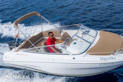 Boats Dc Rent by Motorboat Rent Jeanneau Cap Camarat 6 5 Dc In Cala N Bosch