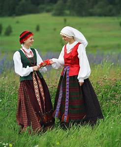 Lithuanian traditional clothes | Ethnic Clothing | Pinterest