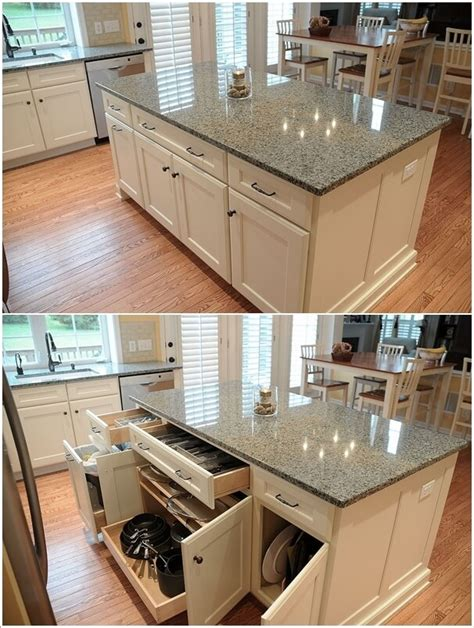 storage island kitchen 25 awe inspiring kitchen island ideas blending with