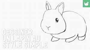 Lapin Facile A Dessiner : dessin dessiner un lapin facile hd youtube ~ Carolinahurricanesstore.com Idées de Décoration