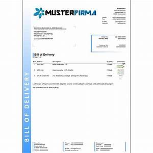 Lieferschein Muster : pin lieferschein on pinterest ~ Themetempest.com Abrechnung