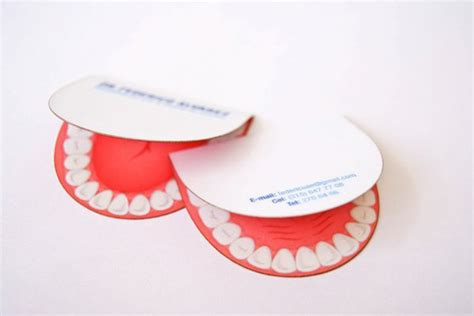 Dentist business card inspiration - CardFaves