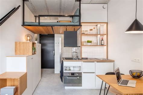tiny house inspired student housing  small living