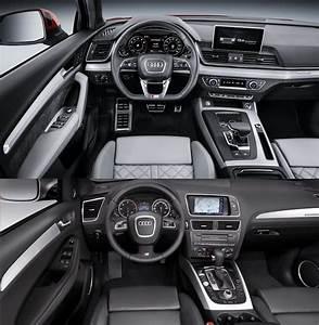 Audi Q5 Interieur : vergelijking de nieuwe audi q5 vs de oude ~ Voncanada.com Idées de Décoration
