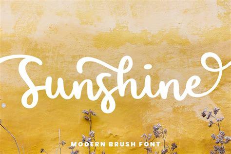 Sunshine Bold Handwritten Script Font - Download Fonts