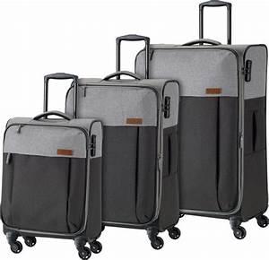 Travelite Koffer Set : travelite weichgep cktrolley set mit 4 rollen 3 tlg ~ Jslefanu.com Haus und Dekorationen