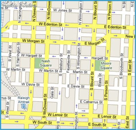 raleigh map travelsfinderscom