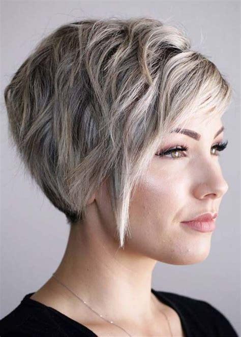 short haircuts  thick hair women