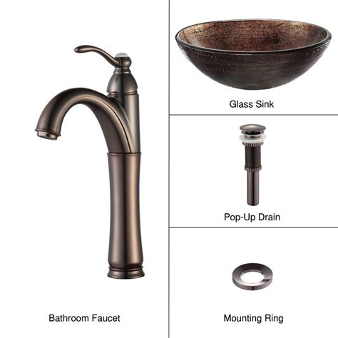 Home Depot Bathroom Vessel Sink Faucets by Vessel Sinks Bathroom Sinks The Home Depot