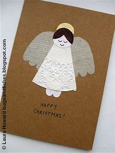 Bugs and Fishes by Lupin How To Angel Christmas Card