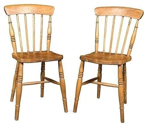 antique pine chairs a pair farmhouse dining
