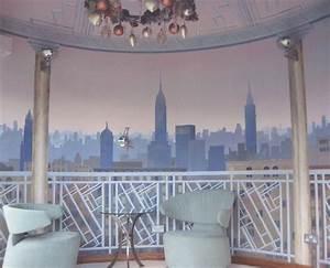 murals and trompe loeil With deco trompe l oeil mural