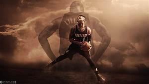 Damian Lillard Blazers 2015-2016 Wallpaper | Basketball ...