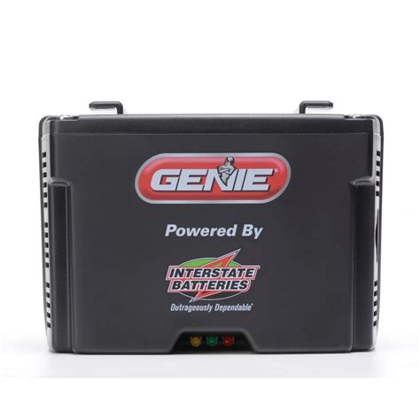 garage door battery backup genie revolution series garage door opener battery back up